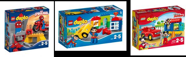 lego pour jeune enfant heros