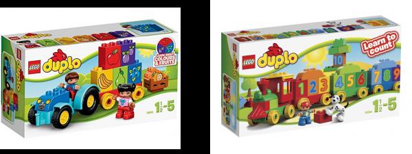 lego pour jeune enfant train-tracteur