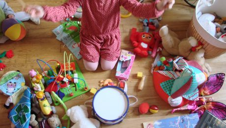 Coffre à jouets pour enfant
