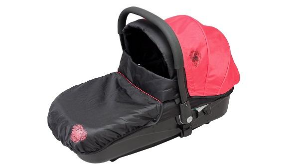 Nacelle pour bébé en voiture Bambisol