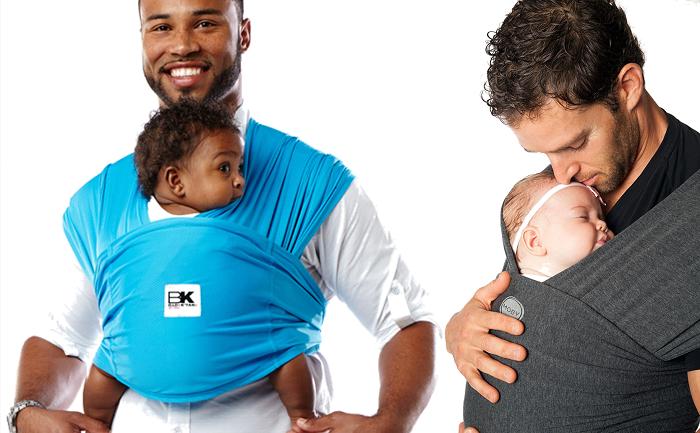 Porter son bébé dans une écharpe de portage - Planetepapas.com ac723499846