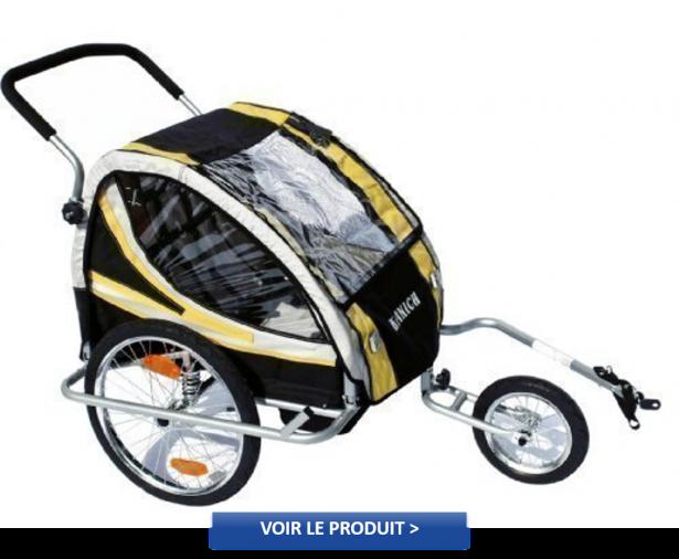 KRANICH 66526 - Remorque vélo
