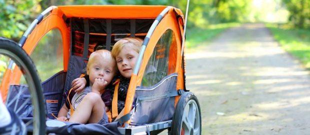 Remorque de vélo pour enfant