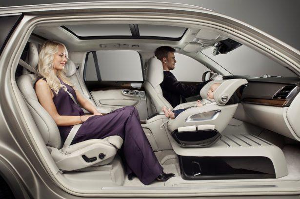 Siège de luxe pour Volvo XC90