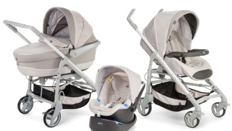 Poussette trio Love Motion de Chicco