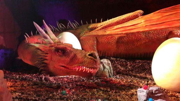 30 dragons animés et grandeur nature à Dragonland