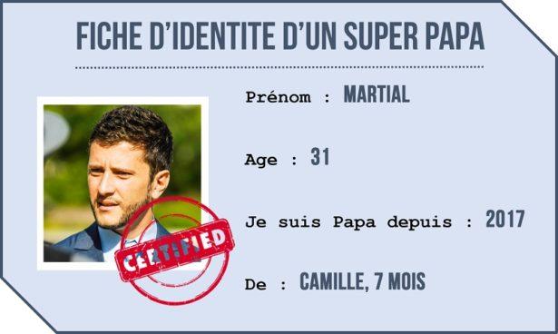 Fiche d'identité d'un Papa-Gourmet, Martial