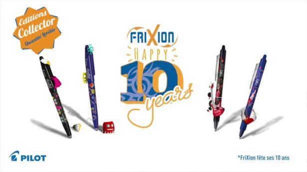 FriXion fête ses 10 ans !