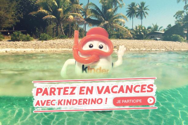 Partez en vacances avec Kinderino !