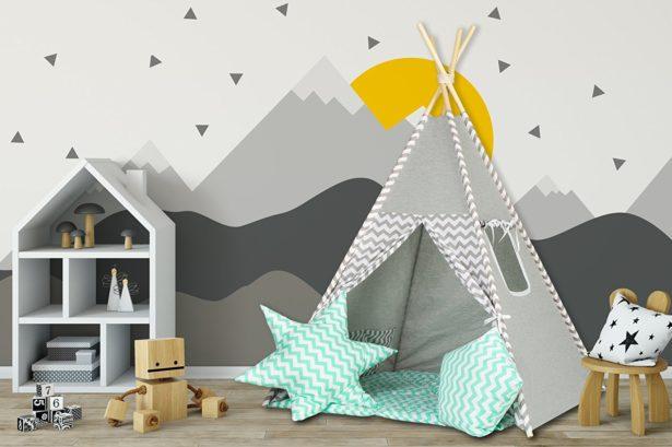 Aménager la chambre de son enfant avec un Tipi ultra tendance !