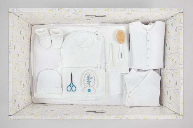 Box Premier Mois a tout le nécessaire demandé par les hôpitaux et les maternités !