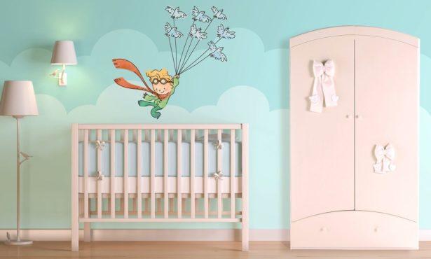 Des stickers muraux pour la chambre de Bébé