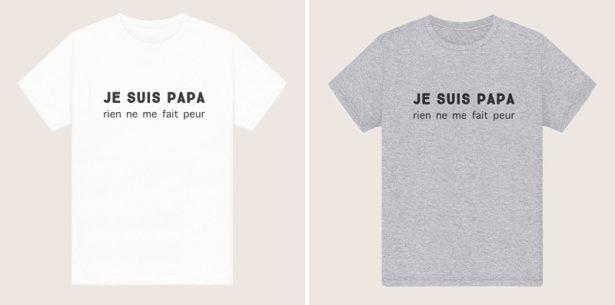 T-shirt Je suis Papa, rien ne me fait peur !