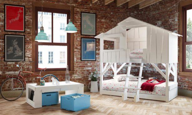 Un lit cabane dont on rêverait bien ! - aménager la chambre de nos enfants