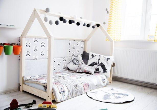 Un lit cabane pour aménager la chambre de notre enfant