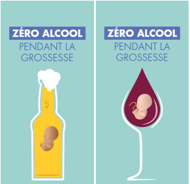 Le mot d'ordre: 0 Alcool pendant la grossesse