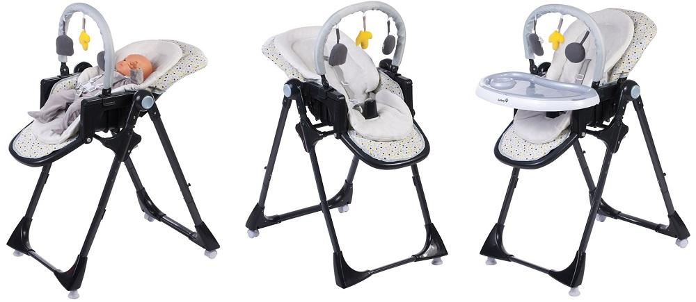 chaise haute volutive safety 1st kiwi d s la. Black Bedroom Furniture Sets. Home Design Ideas
