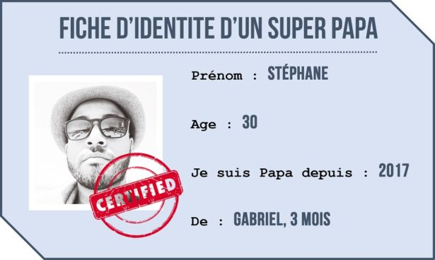 PORTRAIT DE PAPA DECONNEUR STEPHANE