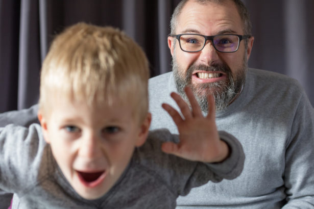 Je pense à mon fils avant de penser à moi - portrait de papa - papa gentleman