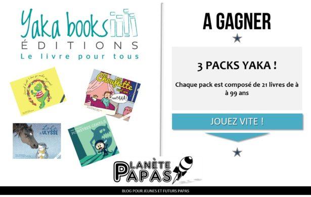 Jeu concours Yakabooks - livres enfants à 2€