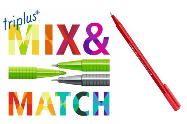 Mix&Match avec Triplus by Staedtler