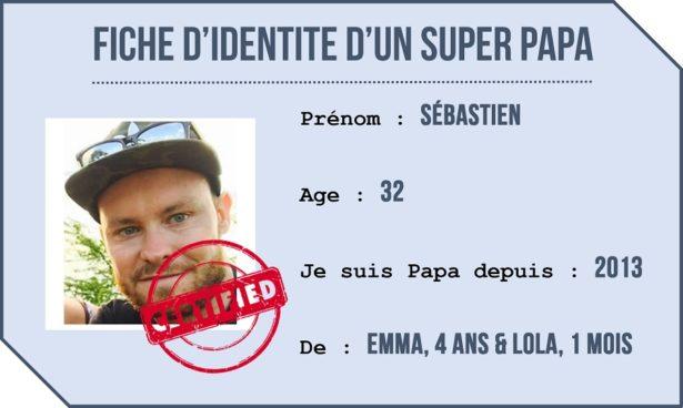 Portrait de Papa - Sébastien