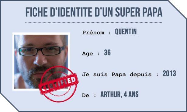 Portrait de Quentin - Papa Gentleman
