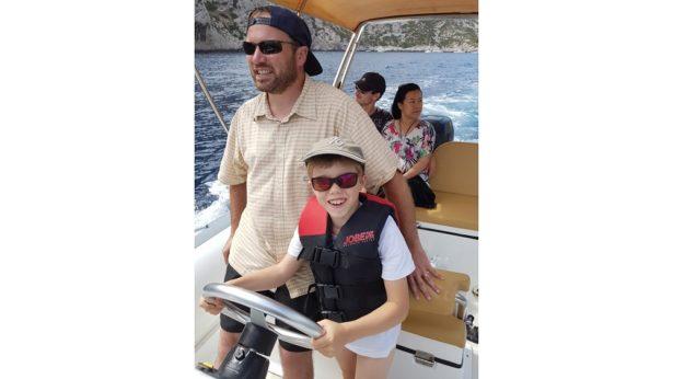 Un bon moment avec mon fils Clément ! - portrait de papa - papa connecté
