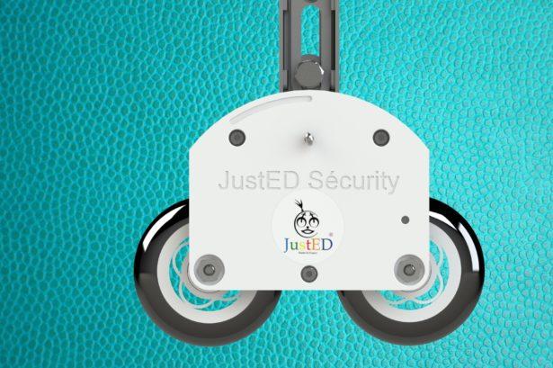 Stabilisateur de vélo JustED pour apprendre à faire du vélo en toute sécurité