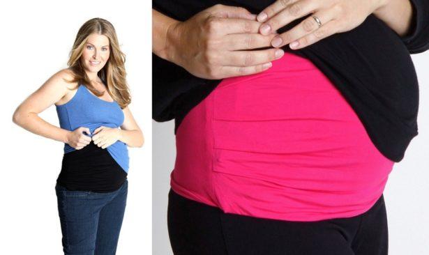 Bandeau de grossesse anti-ondes