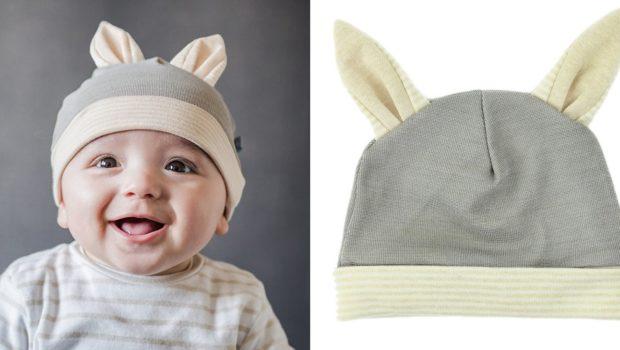 Bonnet Bébé anti-ondes - Lapin