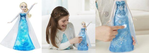 Elsa et sa robe musicale