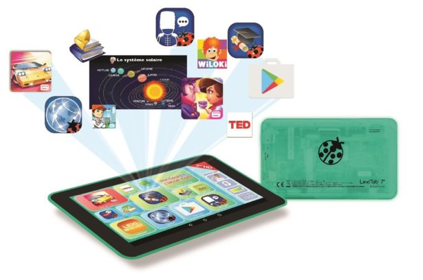 Tablette tactile pour enfant LexiTab 7''