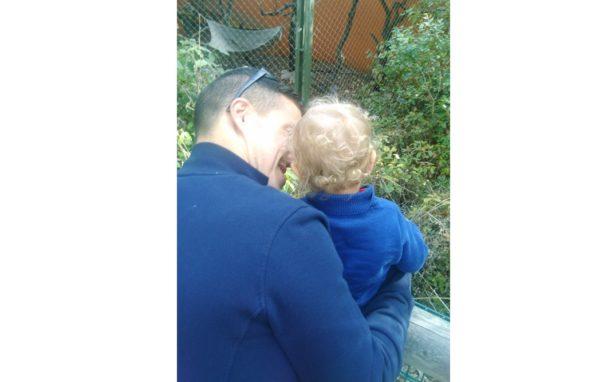 Un moment de complicité avec mon fils