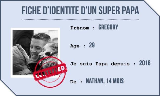portrait de papa - identité gregory