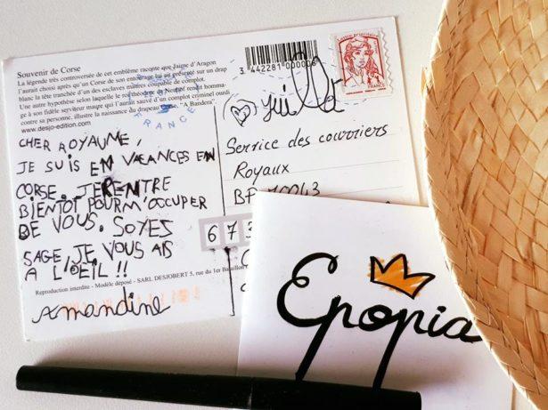 Des courriers des enfants qui se prennent totalement au jeu Epopia !