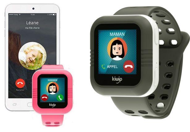 Kiwip Watch, première montre connectée et qui fait aussi téléphone !