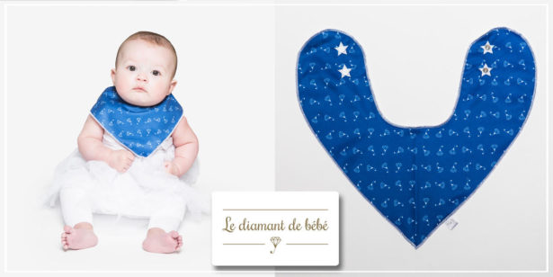 Bandadry bleu by le diamant de bébé