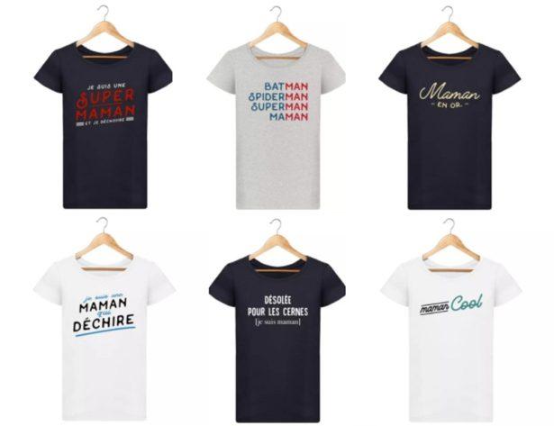 T-Shirt Spécial Fête des Mères 2018