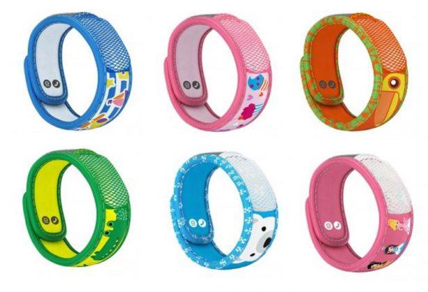 Bracelets Anti-moustiques pour enfants Para'Kito