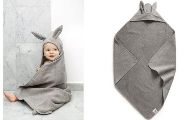 Cape de bain petit lapin