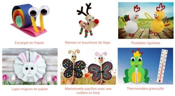Des idées d'activités manuelles et créatives à faire avec vos enfants