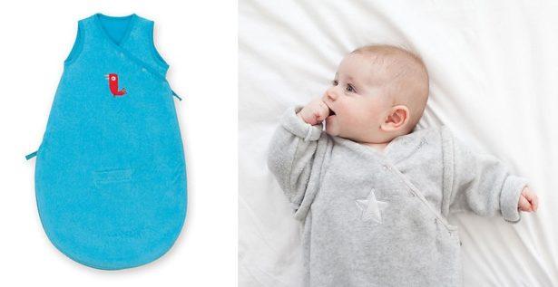 Gigoteuse flashy toute douce en éponge - top 5 gigoteuses pour bébé