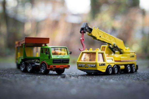 Engins de construction miniatures