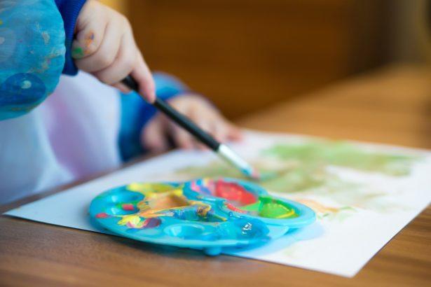 La peinture pour les petits comme les grands