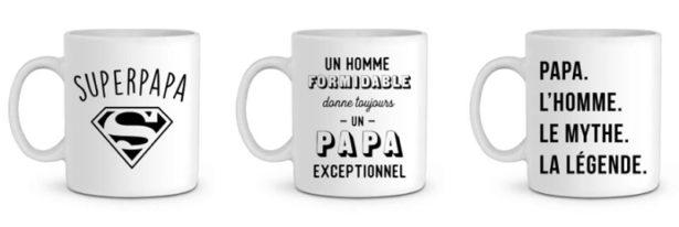 Mug spécial Super Papa - idées cadeaux fête des pères 2018