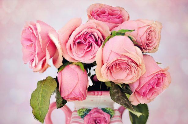 Un bouquet de roses pour la Fête des Mères