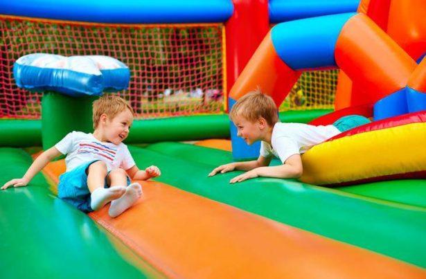 Une structure gonflable pour l'anniversaire de votre enfant