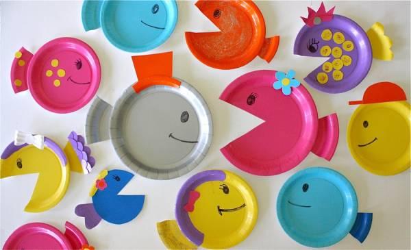 Que faire avec des assiettes en papier et des enfants ?