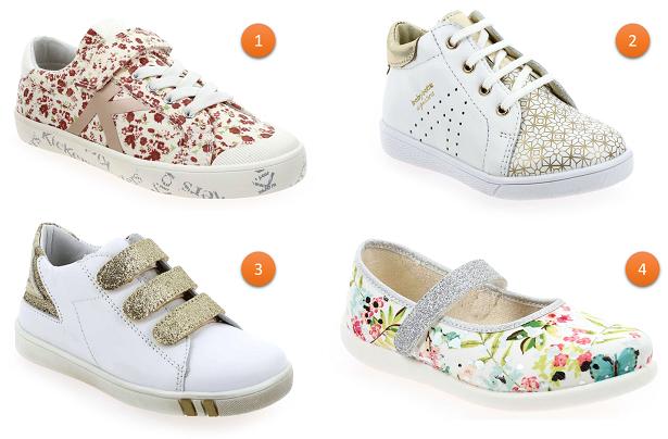 chaussures tendances pour enfant-fille